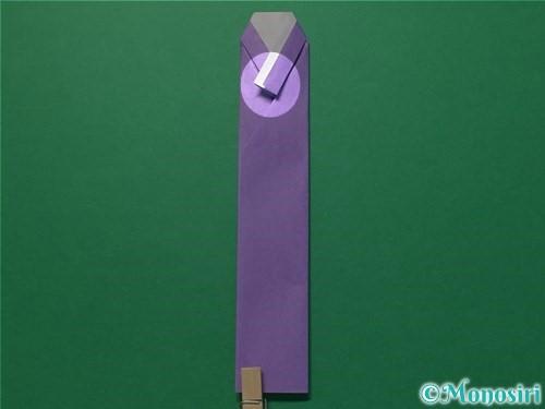 折り紙で浴衣(着物)の作り方手順19