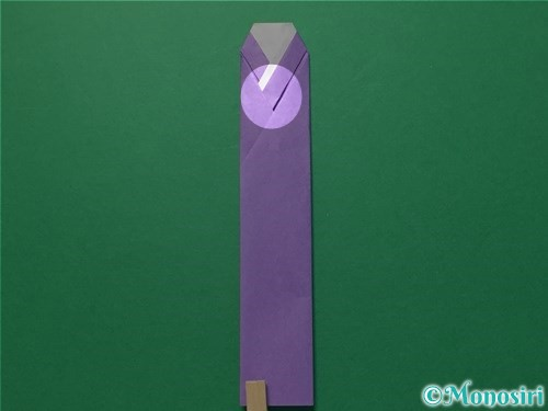 折り紙で浴衣(着物)の作り方手順20