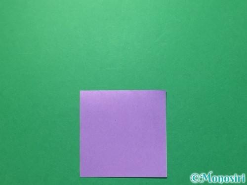 折り紙で浴衣(着物)の作り方手順25