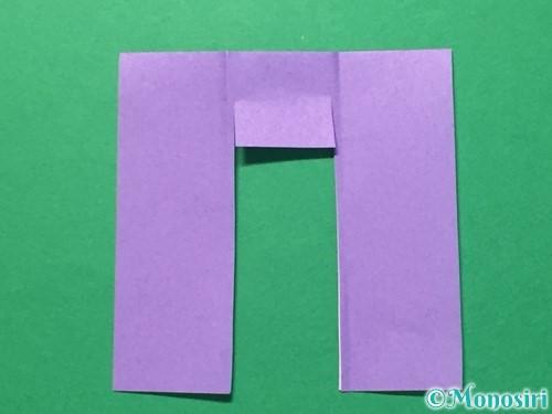 折り紙で浴衣(着物)の作り方手順28
