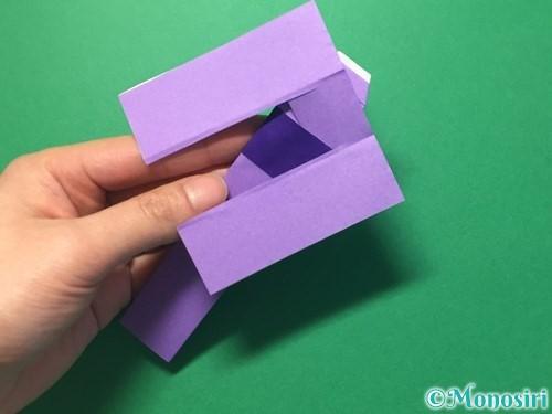 折り紙で浴衣(着物)の作り方手順31