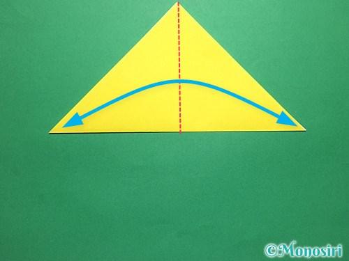 折り紙で青虫の折り方手順3