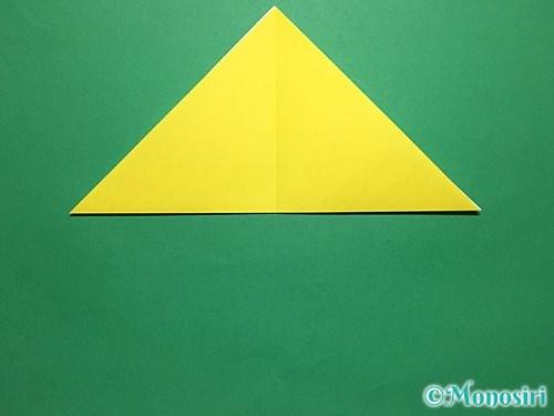 折り紙で青虫の折り方手順4