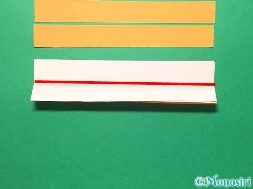 折り紙で輪飾りの作り方手順10