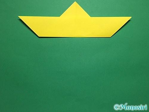 折り紙で青虫の折り方手順6