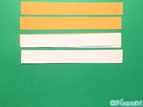 折り紙で輪飾りの作り方手順11