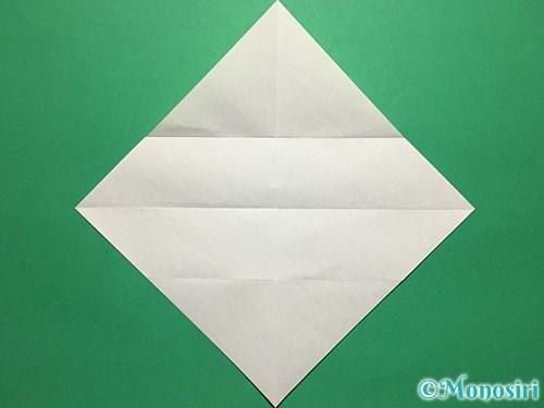 折り紙で青虫の折り方手順7