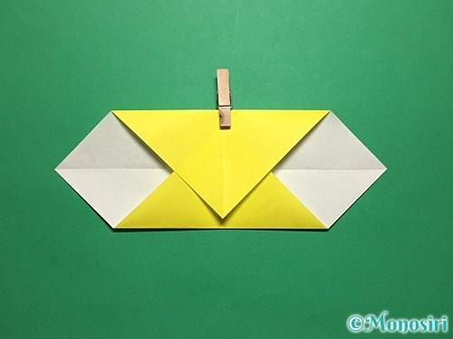 折り紙で青虫の折り方手順9