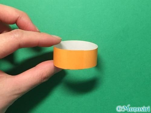 折り紙で輪飾りの作り方手順14