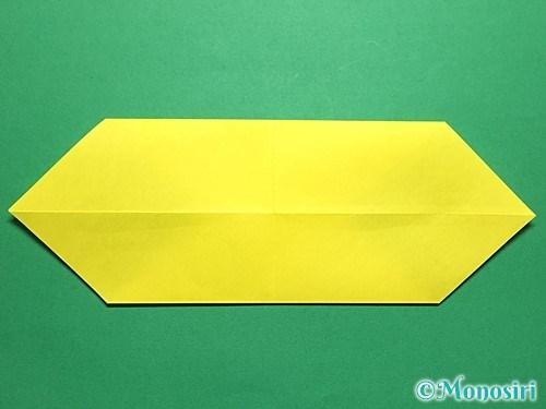折り紙で青虫の折り方手順10