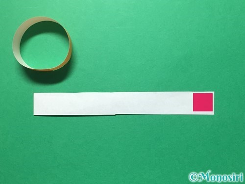 折り紙で輪飾りの作り方手順15