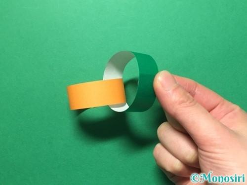 折り紙で輪飾りの作り方手順16