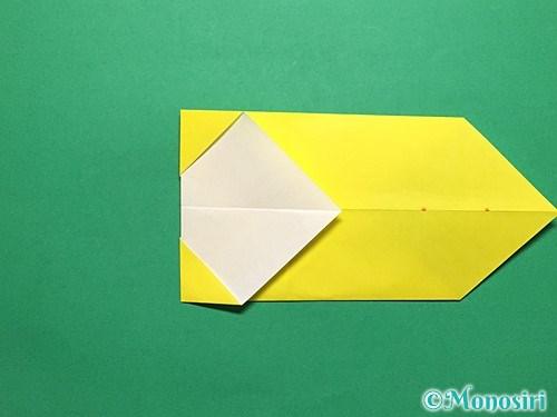 折り紙で青虫の折り方手順13