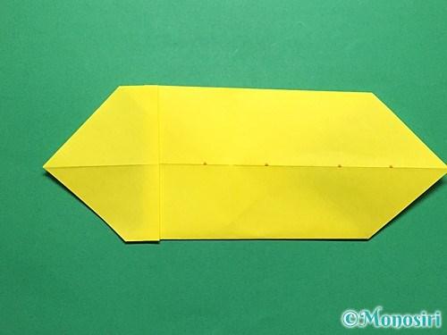 折り紙で青虫の折り方手順15