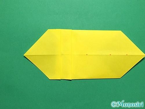 折り紙で青虫の折り方手順18