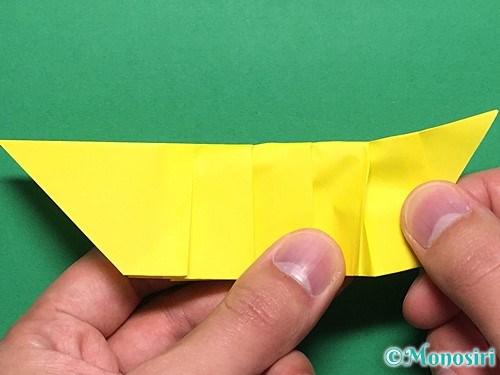 折り紙で青虫の折り方手順23