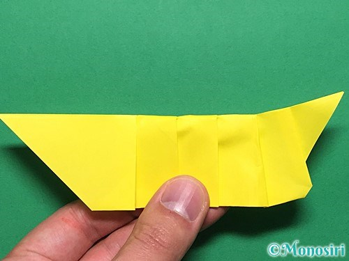 折り紙で青虫の折り方手順24
