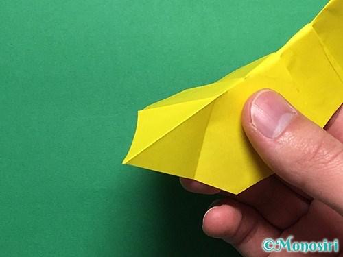 折り紙で青虫の折り方手順29