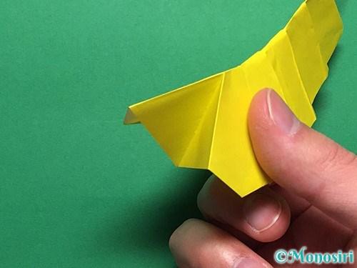 折り紙で青虫の折り方手順30