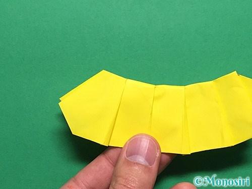 折り紙で青虫の折り方手順31