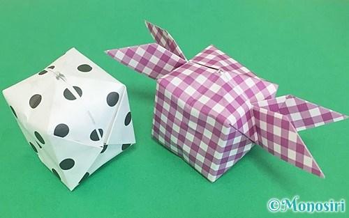 折り紙で折った風船