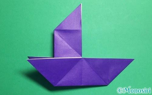 折り紙で折っただまし船