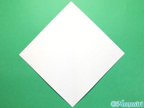 折り紙で彦星の作り方手順2