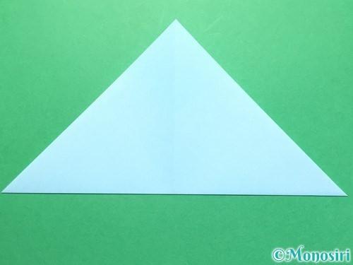 折り紙で彦星の作り方手順7