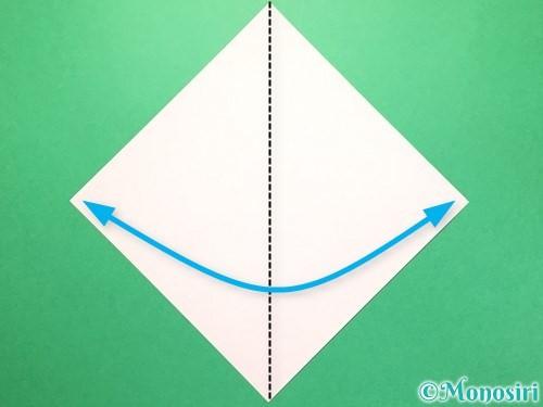折り紙で織姫の作り方手順1