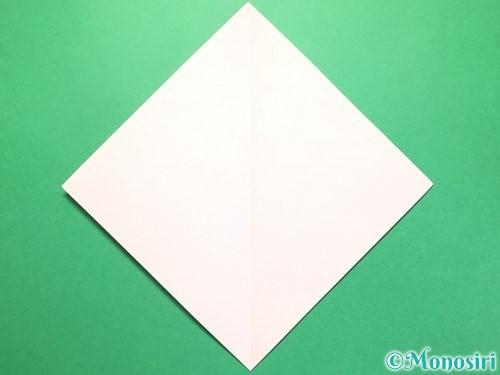 折り紙で織姫の作り方手順2