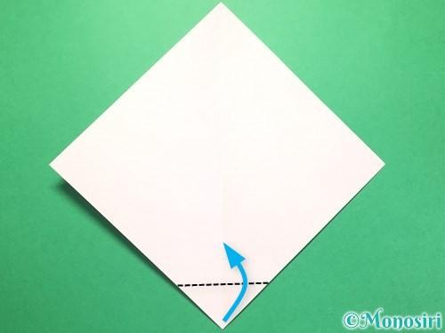 折り紙で織姫の作り方手順3