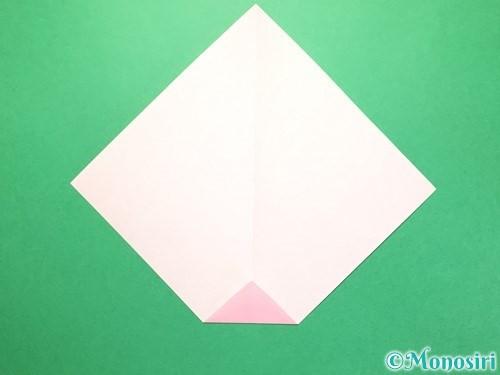 折り紙で織姫の作り方手順4