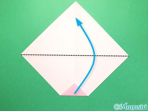 折り紙で織姫の作り方手順5