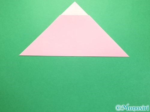 折り紙で織姫の作り方手順6