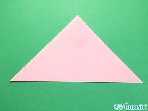 折り紙で織姫の作り方手順7