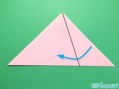 折り紙で織姫の作り方手順8