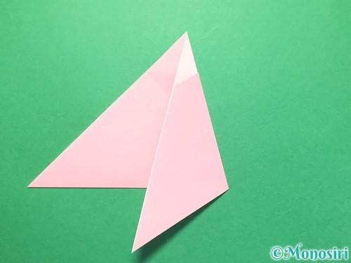 折り紙で織姫の作り方手順9