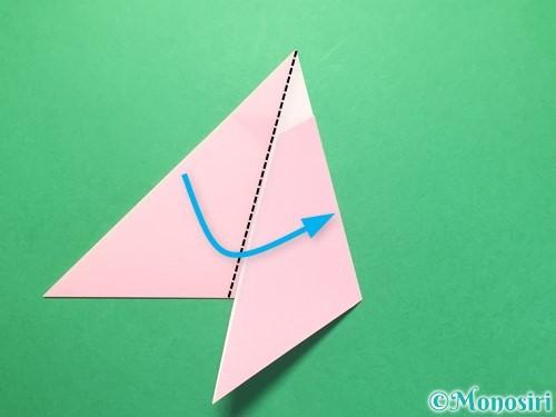 折り紙で織姫の作り方手順10