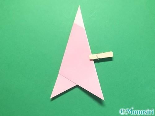 折り紙で織姫の作り方手順11
