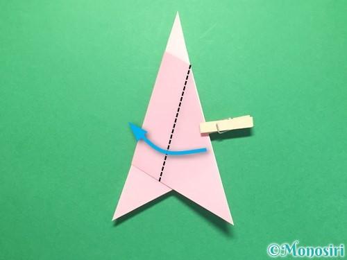 折り紙で織姫の作り方手順12