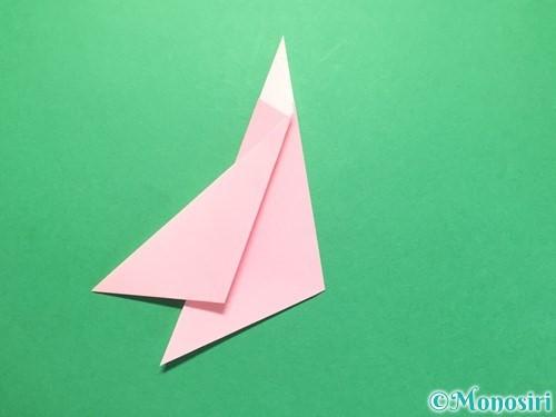 折り紙で織姫の作り方手順13