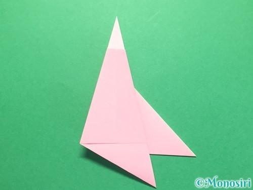 折り紙で織姫の作り方手順14