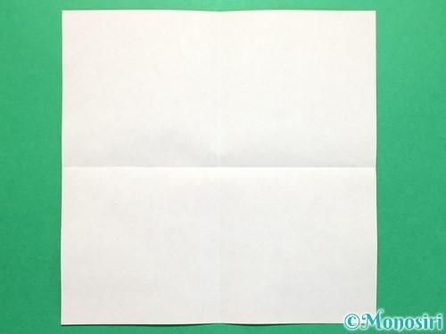 折り紙でくす玉の作り方手順2