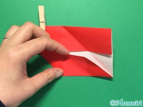 折り紙でくす玉の作り方手順15