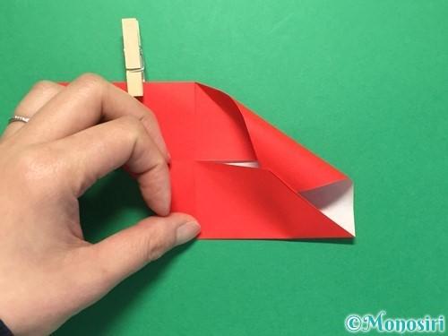 折り紙でくす玉の作り方手順16