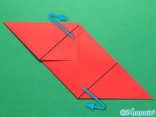 折り紙でくす玉の作り方手順18