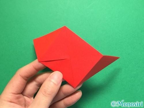 折り紙でくす玉の作り方手順19