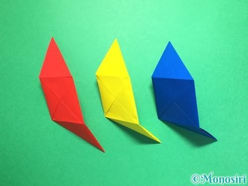 折り紙でくす玉の作り方手順20