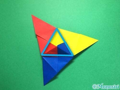 折り紙でくす玉の作り方手順29