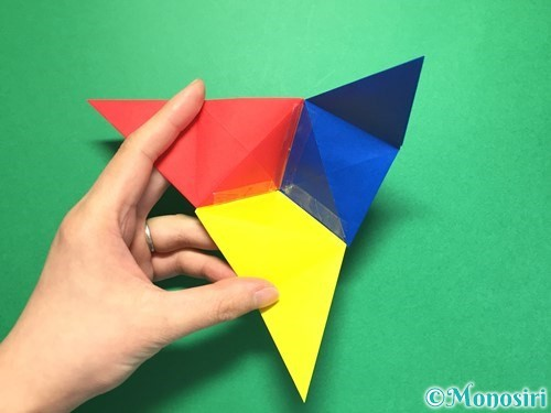 折り紙でくす玉の作り方手順30